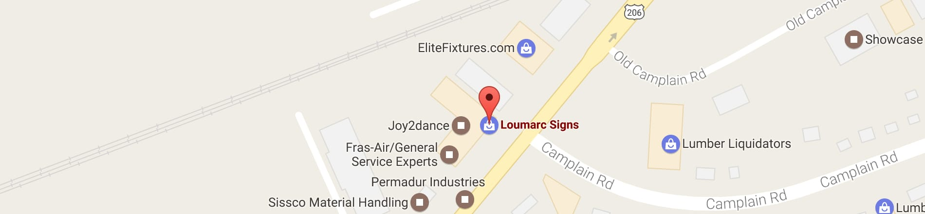 Click to get directions to Loumarc Signs