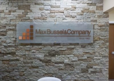 Max Bussel & Company sign in South Plainfield, NJ