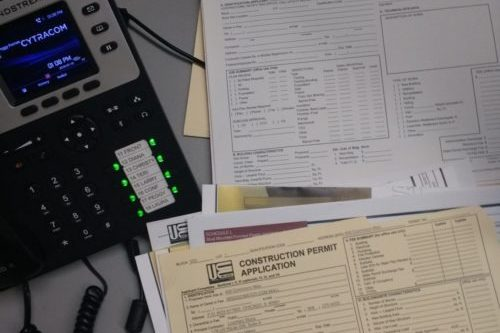 forms for sign permit paperwork